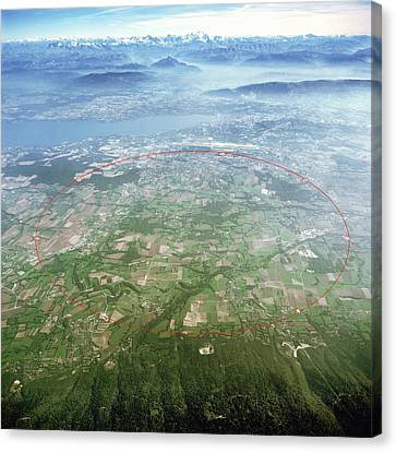 Large Hadron Collider Canvas Print by Cern