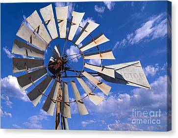 Large Windmill Canvas Print