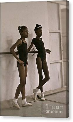 Las Bailarinas Canvas Print by Maureen J Haldeman