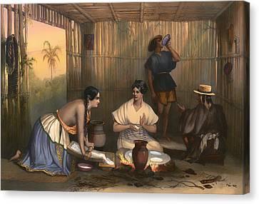 Las Tortilleras  Canvas Print by Mountain Dreams