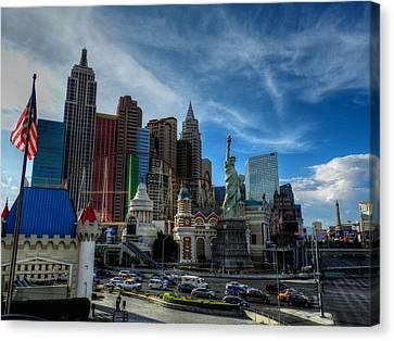 Las Vegas 051 Canvas Print by Lance Vaughn
