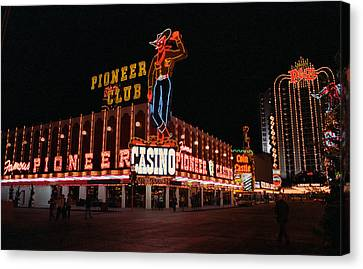 Las Vegas 1983 Canvas Print