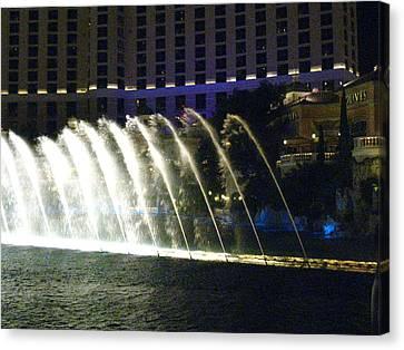 Las Vegas - Bellagio Casino - 121217 Canvas Print by DC Photographer