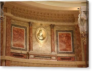 Las Vegas - Caesars Palace - 121218 Canvas Print by DC Photographer