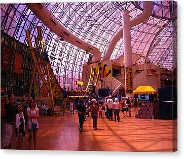 Circus Canvas Print - Las Vegas - Circus Circus Casino - 12121 by DC Photographer