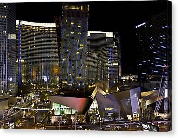 Las Vegas City Center Canvas Print