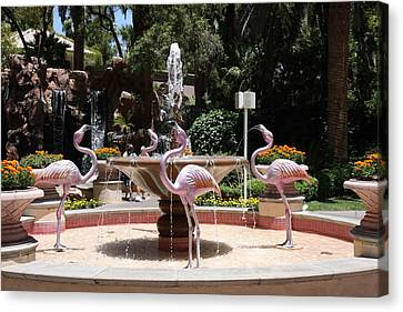 Las Vegas - Flamingo Casino - 12122 Canvas Print