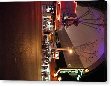 Las Vegas - Fremont Street Experience - 121223 Canvas Print by DC Photographer