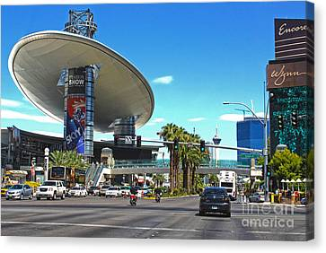 Las Vegas Canvas Print by Gregory Dyer