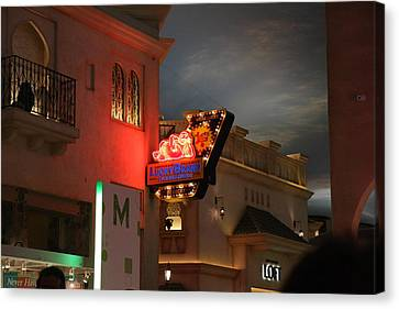 Las Vegas - Planet Hollywood Casino - 12127 Canvas Print by DC Photographer