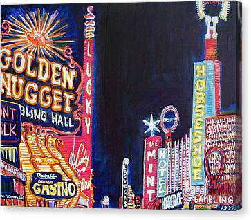 Las Vegas Strip Canvas Print by Mitchell McClenney