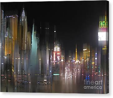 Las Vegas Surreal 2 Canvas Print