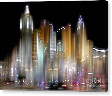 Las Vegas Surreal Canvas Print