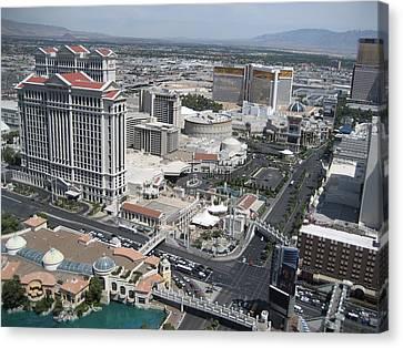 Las Vegas - The Srip - 12125 Canvas Print by DC Photographer