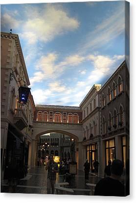 Las Vegas - Venetian Casino - 12121 Canvas Print