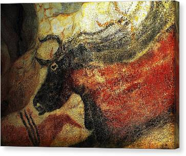 Canvas Print featuring the photograph Lascaux II Number 2 - Horizontal by Jacqueline M Lewis