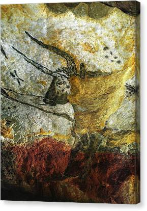 Lascaux II Number 3 - Vertical Canvas Print by Jacqueline M Lewis