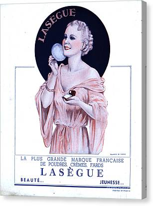 Laseguela Vie Parisienne 1930s France Canvas Print by The Advertising Archives