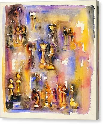 Lasker-alekhine Canvas Print