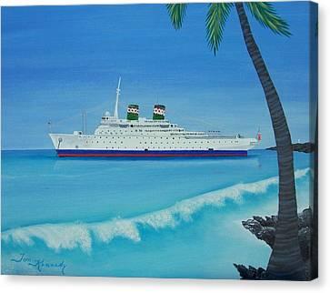 Last Cruise Canvas Print