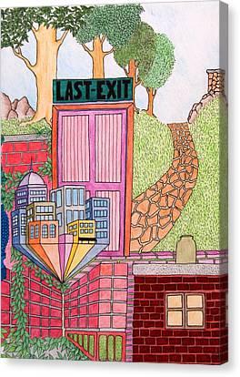 Last Exit Canvas Print