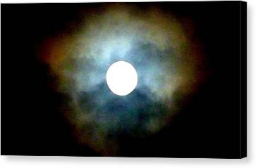 Last Full Cold Moon December 2012 Canvas Print by Susan Garren