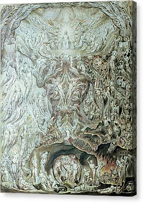 Last Judgement Wc Canvas Print