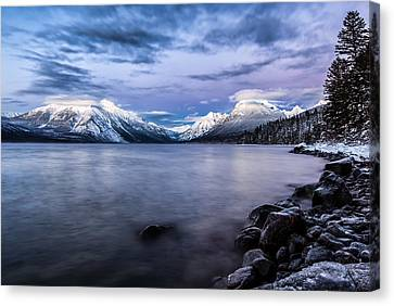 Canvas Print featuring the photograph Last Light by Aaron Aldrich