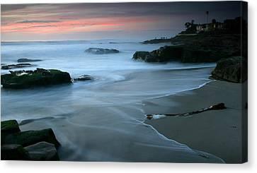 Last Light At Windansea Beach Canvas Print