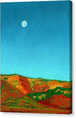 Last Light Canvas Print by Diane Cutter