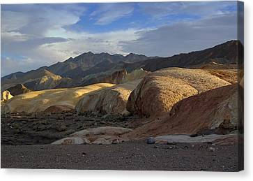 Last Light In Death Valley Canvas Print