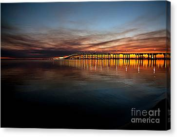 Last Light Canvas Print by Joan McCool