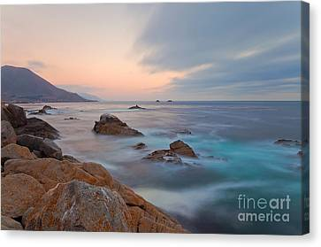 Canvas Print featuring the photograph Last Light by Jonathan Nguyen