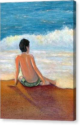 Undertow Canvas Print - Last Light by Karyn Robinson