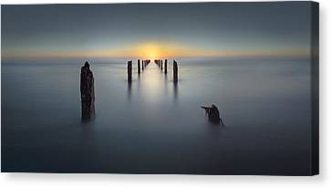 Bet Canvas Print - Last Light by Nadav Jonas