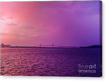 Last Night Canvas Print by Patricia Trudell