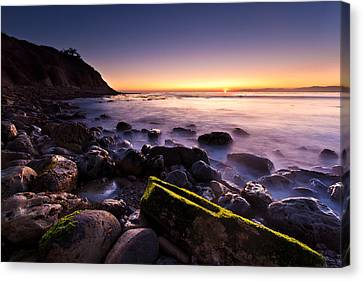 Canvas Print featuring the photograph Last Ray by Mihai Andritoiu