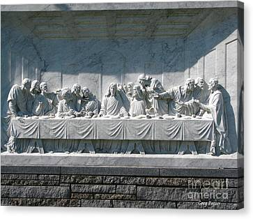 Canvas Print featuring the photograph Last Supper by Greg Patzer