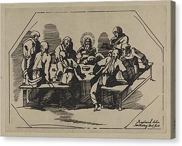 Last Supper Canvas Print - Last Supper, Jan Tersteeg by Artokoloro
