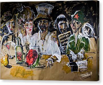 Last Supper Canvas Print by Maxim Komissarchik