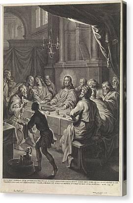 Last Supper Canvas Print - Last Supper, Michel Natalis by Quint Lox