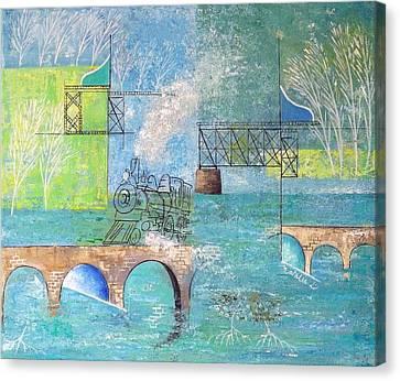Last Train To Paradise #2 Canvas Print