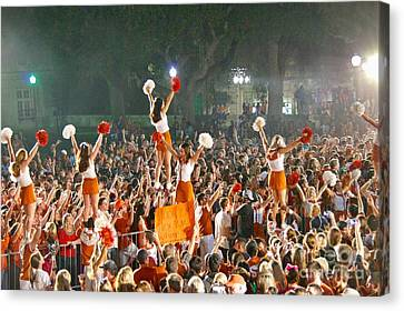 Last University Of Texas Hex Rally Canvas Print by Sean Griffin