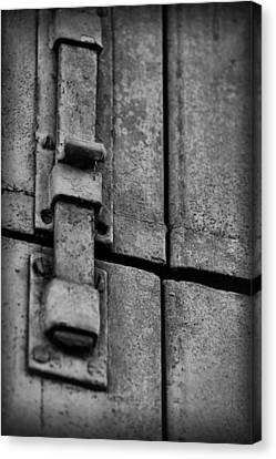 Latched Canvas Print
