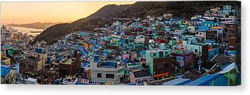 Late Afternoon In Gamcheon Canvas Print