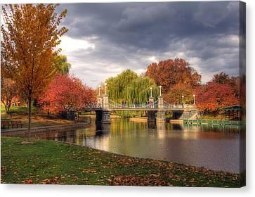Late Autumn Canvas Print by Joann Vitali