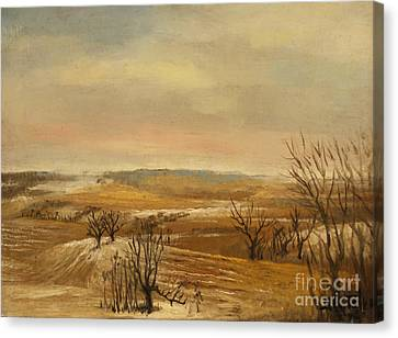 Daviess County Canvas Print - Late Fall In The Midwest by Art By Tolpo Collection