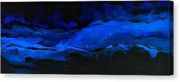 Late Night High Tide Canvas Print