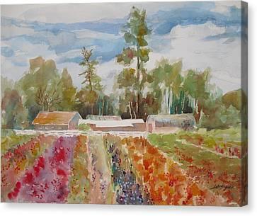 Late Season Exhibit  Canvas Print by John  Svenson