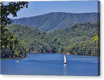 Late Summer Cruising  Canvas Print by Tom Culver